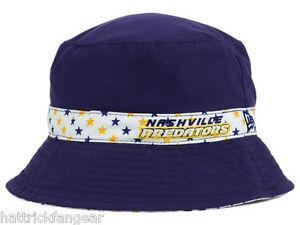 Nashville Predators New Era Reversible NHL Hockey Toddler Bucket Cap Hat