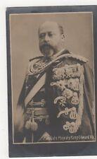 His Late Majesty King Edward VII, Davidson RP Postcard #2, B385