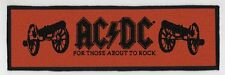 AC/DC SUPERSTRIP PATCH / SPEED-THRASH-BLACK-DEATH METAL