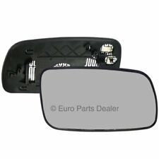 Driver side Clip Heated Convex wing mirror glass for Toyota Avensis 03-06