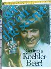 Vintage  Koehler Beer Brewery Cardboard Retail Counter Ad Sign Display