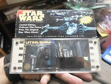 Star Wars Ltd. Edition Collector Film Frame From Original Star Wars Movie! 1995