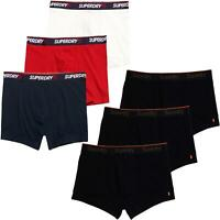 Superdry Orange Label 3 Pack Trunk Boxer Shorts