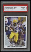 CLYDE EDWARDS-HELAIRE 2020 LEAF FOOTBALL 1ST GRADED 10 ROOKIE CARD RC CHIEFS/LSU