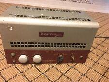 Vintage Challenger Tube Audio Amplifier
