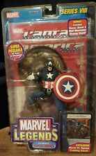 Marvel Legends Series VIII Ultimate CAPTAIN AMERICA - Toy Biz 2004