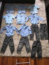 BATCH 3 - Boys Clothes School Shirts & Grey Pants (x13 items) SIZE 6