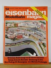 Eisenbahn Magazin Modellbahn 1988 Dezember #12 Rampe Erkrath Hochdahl