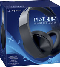 Sony Platinum Wireless 7.1 Surround Sound Gaming Headset For PlayStation 4 - VG