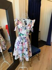 Ladies Dresses Floral Skater Dress Wedding Guest Race Day Fashion UK Made RRP£65