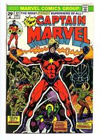 Captain Marvel Vol 1 #32 VF Very Fine Thanos Origin Drax the Destroyer Marvel