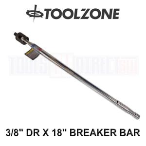 "Toolzone 3/8"" DR X 18"" Breaker Bar Knuckle Bar SS213"