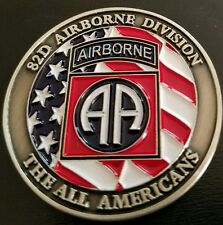 Challenge Coin 82nd Airborne Army