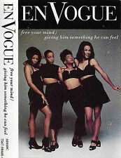 En Vogue ‎Free Your Mind / Giving Him  CASSETTE SINGLE Hip Hop RnB/Swing