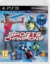 SONY PLAYSTATION 3 PS3 SPORTS CHAMPIONS PAL ITALIANO COMPLETO