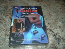NEW SEALED RALPH PAUL'S GUITAR MADE EASY LEARN TO PLAY STEP BY STEP 5 DVD SET