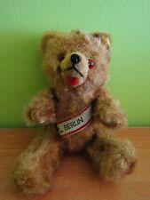"Antique VTG 40's German Mohair Jointed Berlin Sash Teddy Bear Schuco 8"""