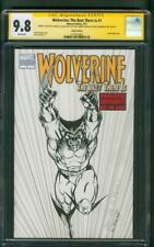 Wolverine 1 CGC 9.8 SS Jim Lee Issue 27 Homage Rosa Original art Sketch