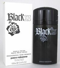 Black XS By Paco Rabanne 3.3 / 3.4 Oz EDT Spray New Tester Cologne For Men