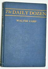 Daily Dozen Walter Camp Hardcover Reynolds Pub 1925 1st Edition 12 Calisthenics