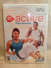 Nintendo Wii EA Sports Active More Workouts Video Game! Fitness, Exercise NEW F2