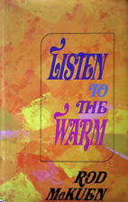 ROD McKUEN - LISTEN TO THE WARM - HARDBACK WITH DJ - AUTOGRAPHED BY ROD - 1974