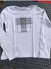 T Shirt gris / Marque Burberry / Taille 10 Ans