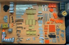 Meccano 9550 Multi Models, Parts, Wheels, Instructions, (Not Complete)