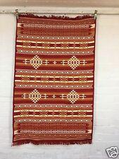 TAPPETO orientale Kilim Fleckerlteppich 180x120 TAPPETO Mano tessuta come parte di Tapis Tappeto Rug