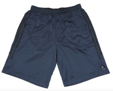 Adidas Performance Men's Navy Climalite Shorts Athletic Apparel Size Large 1504