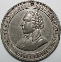 1880 | Centenary Of Sunday Schools Robert Raikes Medal | Medals | KM Coins