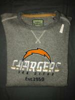 Tommy Bahama San Diego Chargers Windward Sweatshirt 100% Cotton Pullover Men  XL