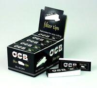 OCB Filtertips Filter Tips - 1 Karton mit 25 Heftchen à 50 Tips - Zigaretten
