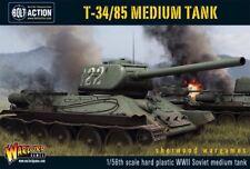 28mm Warlord Russian T34/85 Medium Tank, BNIB, WWII Bolt Action,