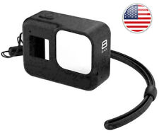Silicone Case For Gopro8 Drop Protection Case BLACK