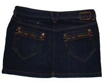 mini jupe jeans MEXX taille W 29 ( T 40 )
