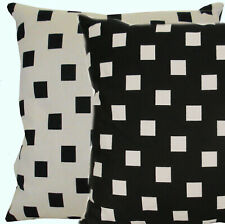 MISSONI HOME CUSHION COVER DOUBLE FACE B&W BERLIN COTTON BLEND 40x40cm 16x16""