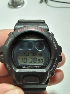 Casio G-Shock DW-6900. BETTER THAN NEWERS! Need new bezel. WORKS FINE! SEE PICT!