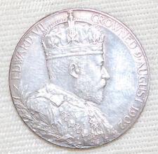 1902 Coronation King EDWARD VII & ALEXANDRA Queen Consort Commemorative Coin
