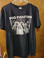Foo Fighters Men's T Shirt Gildan Softstyle Large Foo Fighters Group Photo
