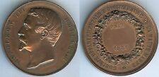 Médaille de table - HAUTE MARNE 1858 Sté départementale horticulture d=42mm
