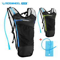 Roswheel Bike Cycling Running Hydration Backpack Pack Vest  2L Water Bladder Bag