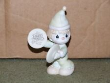 Precious Moments A Smile's The Cymbol Of Joy B-0102 Figurines No Box