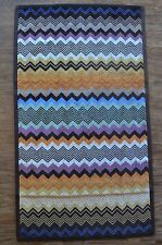Missoni Home Seth Hand Towel  Zig Zag Stripe Pattern