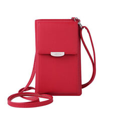 Womens Wallet Purse Shoulder Bags PU Leather Coin Cell Phone Mini Cross-body Bag