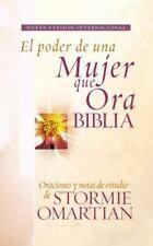 Biblia el Poder de una Mujer Que Ora NVI : Oraciones y Ayudas de Estudio de Stor