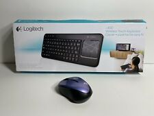 Logitech Wireless Touch Keyboard K400R K400 With Built-In Touchpad + Mouse