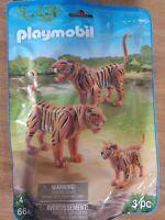 Playmobil Tiger Family Building Set 6645 NEW Animal tigers Zoo Animals Jungle