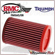 FILTRO DE AIRE DEPORTIVO LAVABLE BMC FM560/08 TRIUMPH BONNEVILLE 800 2005 2006