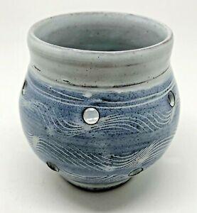 Harry Potter Orkney Studio Pottery Candle Holder/Pot, Scotland. (V)